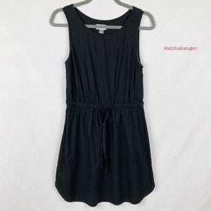 Old Navy Black Linen Blend Dress! EUC!
